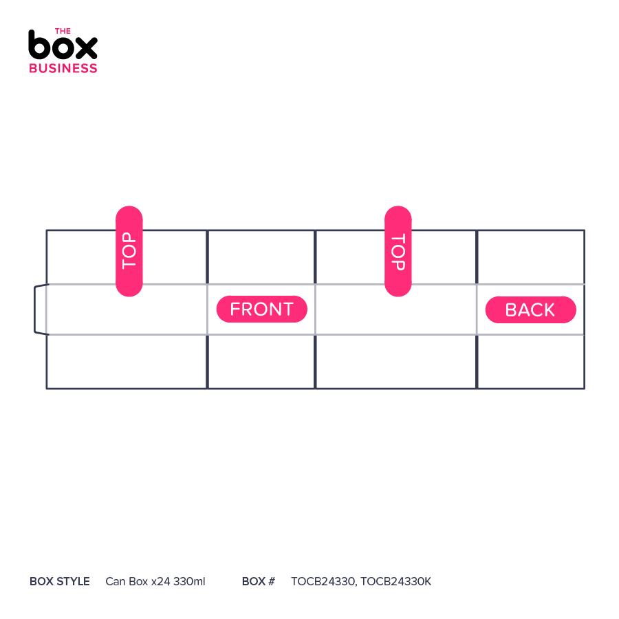 Can Box x24 330ml   Quality Cardboard Boxes   The Box